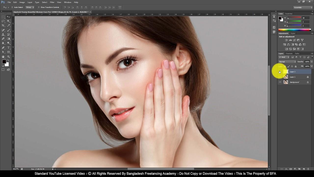 DIP Class 5 How to do Digital Makeover