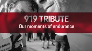 919 Tribute: Our moments of endurance thumbnail