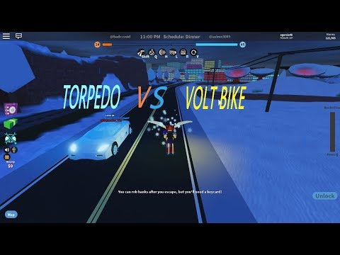Torpedo Vs Tron Bike Jailbreak Youtube