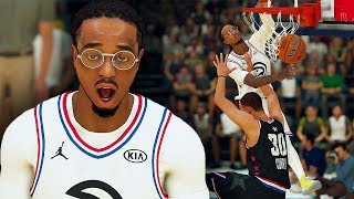 QUAVO TAKES OVER THE ALL STAR GAME! QUAVO POSTERS STEPH CURRY! NBA 2K19 QUAVO CAREER