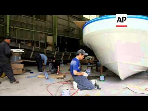 Rebuilding Japan's fishing fleet post tsunami