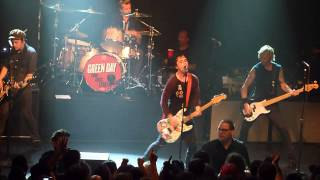 Green Day - Paper Lanterns @ Irving Plaza in NYC 9/15/12