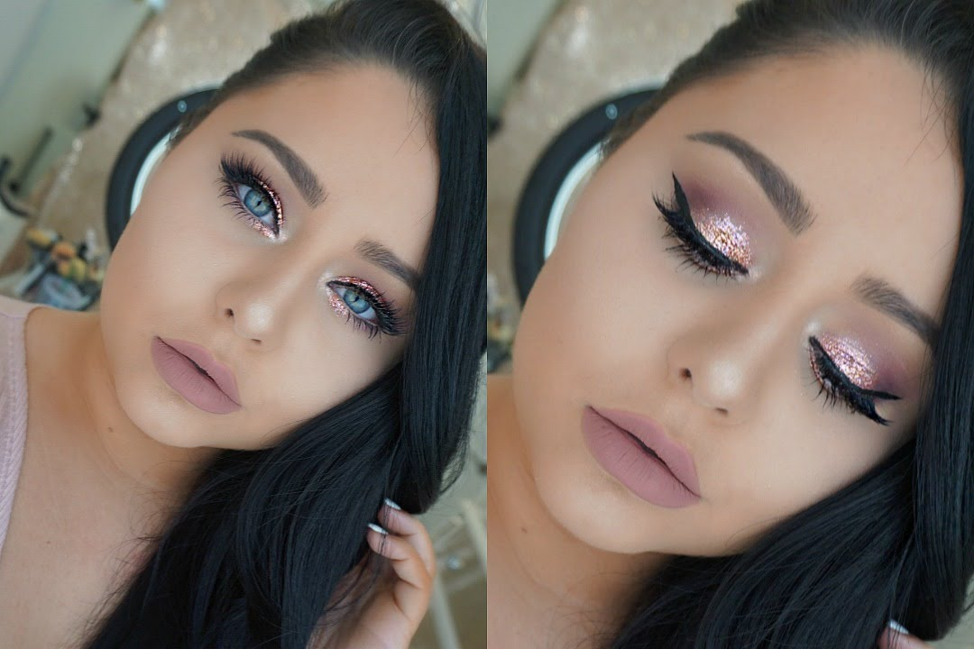 DRUGSTORE GLAM Prom Makeup Tutorial 2016 - YouTube