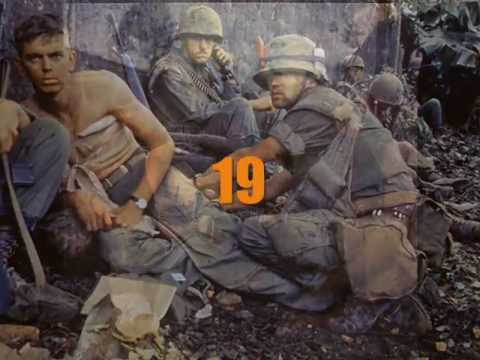 Paul Hardcastle  '19' (12 inch version) with lyrics; Vietnam War in colour by Willem van Maanen.