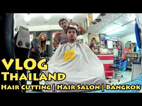VLOG Thailand: Hair Cutting | Hair Salon | Bangkok