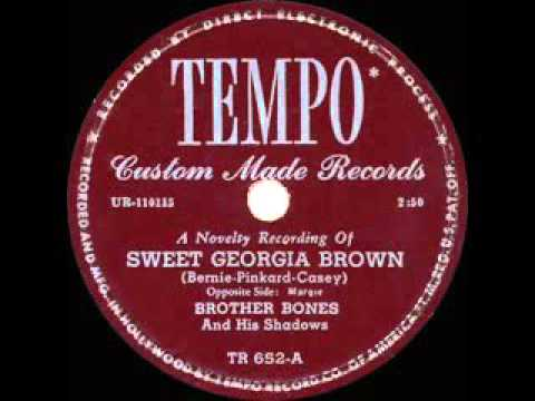 1949 HITS ARCHIVE  Sweet Georgia Brown   Brother Bones Globetrotters theme