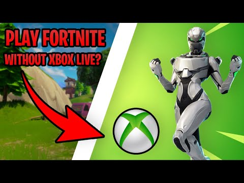 How To Play Fortnite WITHOUT Xbox Live! (the Truth And Only Working Way...)