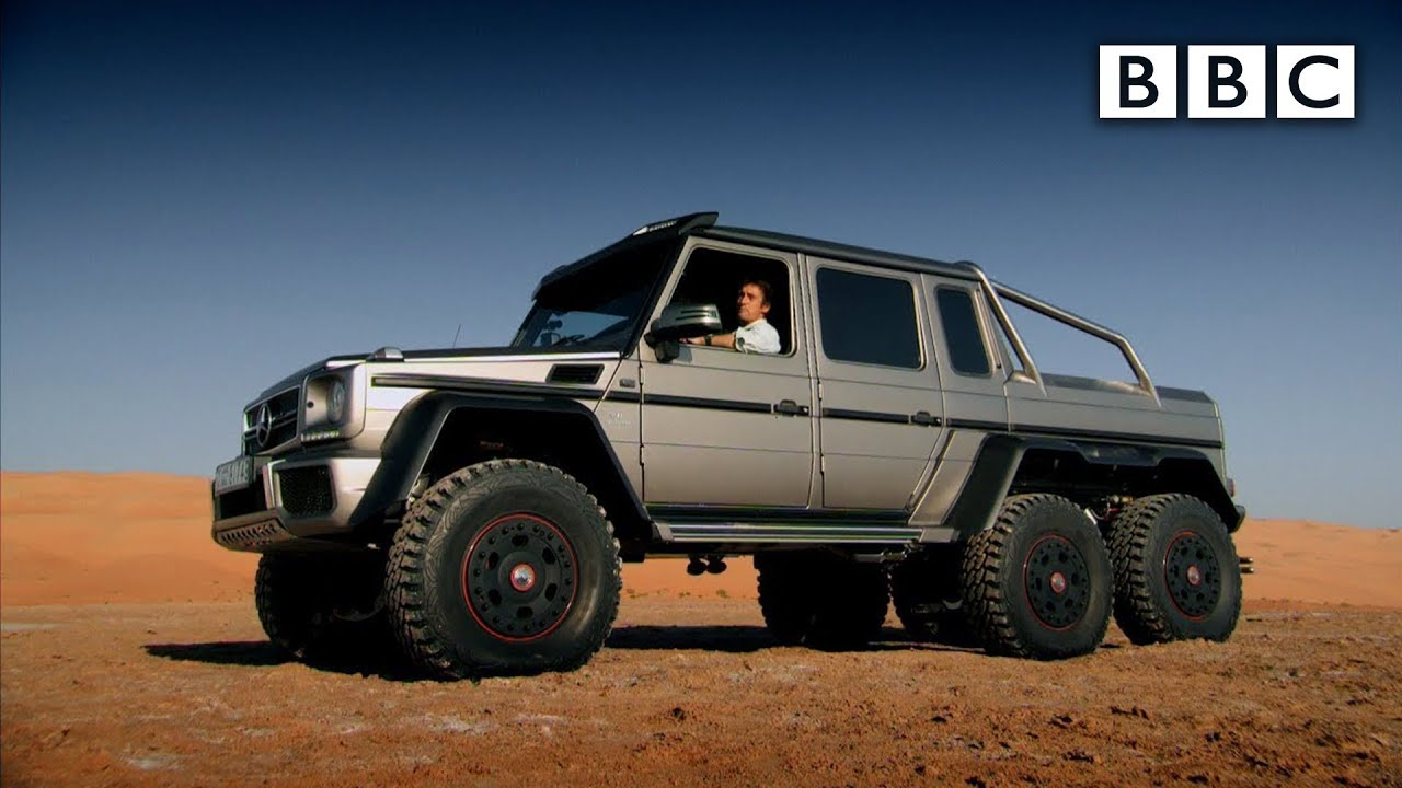 Richard Hammond tests a 6x6 SUV in Abu Dhabi - Top Gear ...