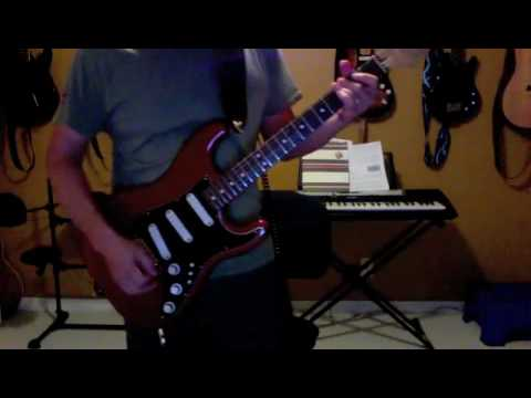 Ty Tabor Guitar Tone - World Around Me (guitar only)