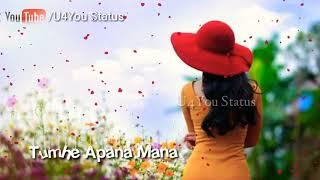 Chahu pass pass Aana Koi dhund Ke Bahana new whatsaap status Heart touch song new