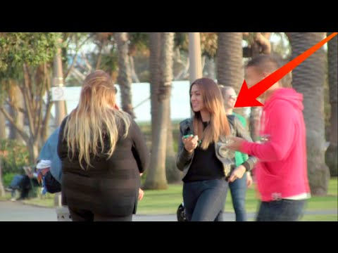FAT Girl Telling Skinny Girls to LOSE WEIGHT!!! Social Experiment