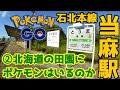 【ポケモンGO】北海道の農業地帯・当麻駅②ポケモンはいるのか?