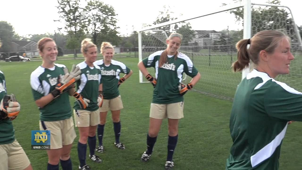 Notre Dame Women s Soccer Goalkeeper Battle - YouTube b32265694