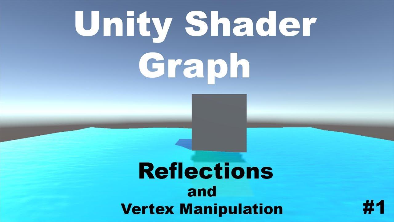 Unity Tutorial : Shader Graph : Water Shader - Part 1 - смотреть