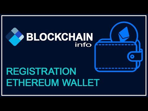 Registration of Ethereum wallet  on Blockchain.info STEPIUM