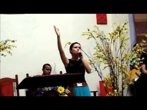"""Pregação completa --""""A escolha é sua""""    Amanda Vasconcellos"""