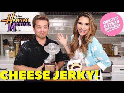 See Christy Carlson Romano and Jason Earles Make Hannah Montana's Cheese Jerky Recipe IRL