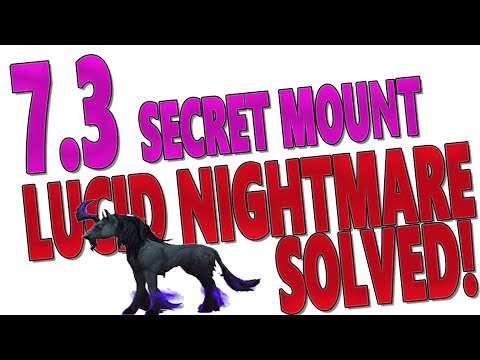 7.3 Argus Secret Mount: LUCID NIGHTMARE PUZZLE SOLVED - Full Mount Guide