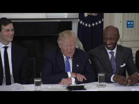 MUST WATCH: President Donald Trump Leads a Listening Session with Manufacturing CEOs 2/23/2017 ✔