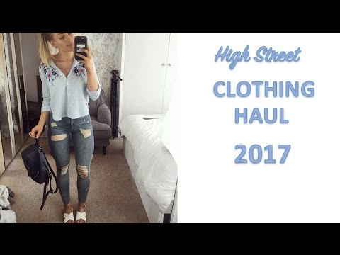 HIGH STREET SPRING CLOTHING HAUL | Try on...