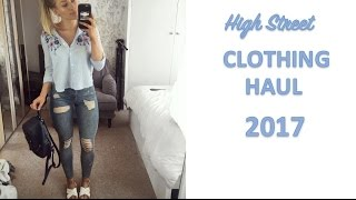 HIGH STREET SPRING CLOTHING HAUL | Try on & review |  New Look | H&M