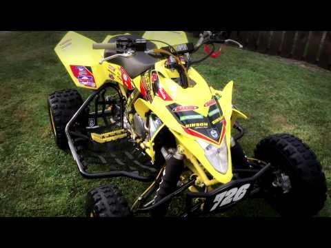 TEAM ROCKSTAR!!!   2008  SUZUKI LTR 450 Quad Racer