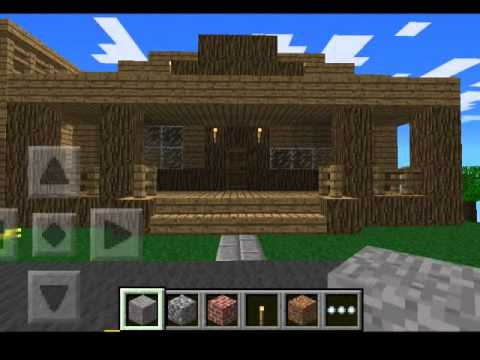 minecraft pe easy house ideas