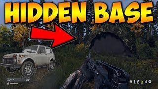 New Super Hidden Base Location And We Found A Car DayZ Xbox One Gameplay