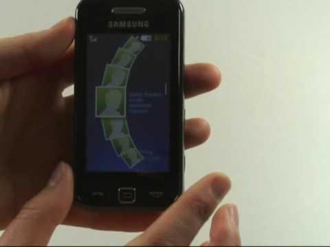 Samsung S5230 Star Test Bedienung