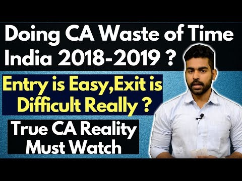 Reality of Chartered Accountant (CA) India | Doing CA Waste of Time ? | Must Watch