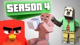 MMP Season 4 Compilation! - (Minecraft Animation)