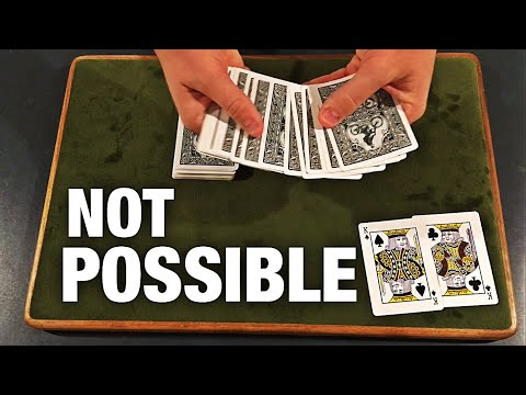 There's NO WAY This Card Trick is Possible!