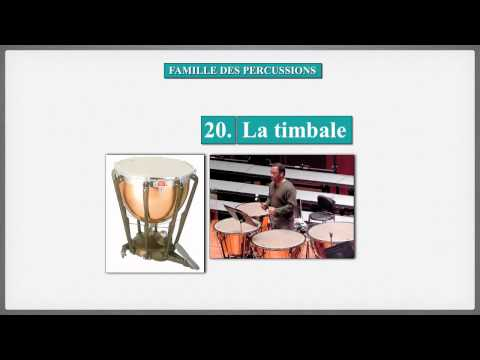 Famille des percussions