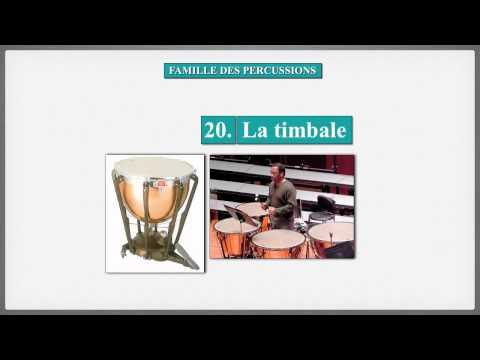 Famille des percussions