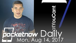 Samsung Galaxy Note 8 teaser, LG V30 new UX & more   Pocketnow Daily