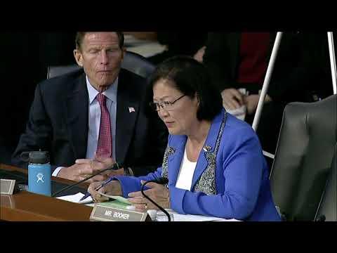 US Sen Mazie Hirono grills Brett Kavanaugh on his views of Native Hawaiians