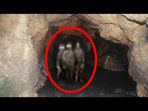 Top 10 Scary Things Encounters In Caves Caught On Camera