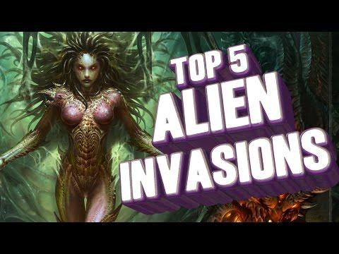 Top 5 - Alien Invasions