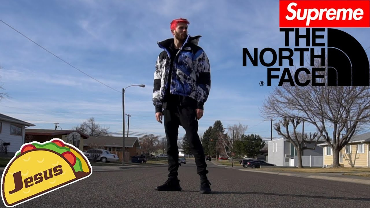 37242a4b503 Supreme The North Face Mountain FW17 Jacket full review + Chasing after  Jesus