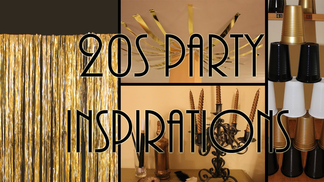 Ben noto Festa a tema anni 20 idee ed ispirazioni DIY- 20s party ideas  OM67