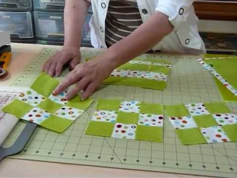 How To Make Fast 9 Patches From Fat Quarters Quilting