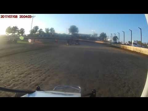 7/8/17 Sweet Springs Motorsports Complex Jr Sprint heat