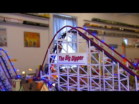 This Train Layout Took Two Years and 5000 Hours to Build! | Localish