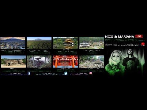PLANNING DE NOTRE AVENTURE AU JAPON, HANTISE, OVNIS, ANCIENT ALIENS