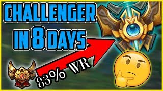 How I Got Challenger in 8 Days (83% WIN RATE!) 5 Tips for Climbing Elo FAST! - League of Legends
