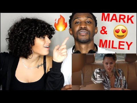 "Mark Ronson ft Miley Cyrus ""Nothing Breaks Like a Heart"" Official Video REACTION!! Jaz & Alex"