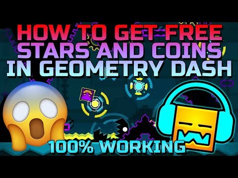 Geometry Dash Hack 2018/2019 - Get Unlimited Stars/Coins EASILY!