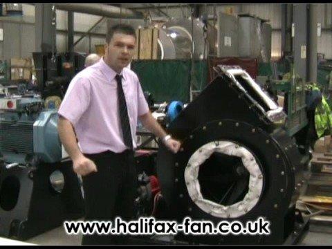 Industrial Fan  Diesel drive Halifax Fan, Centrifugal fan
