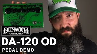 Dunwich Amps DA120 Overdrive Demo - Boosted Matamp GT120 Tone in a Box