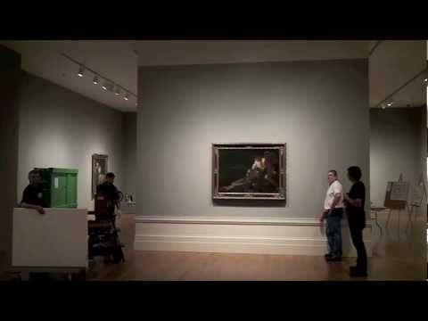 From the vault to the wall; installing Caravaggio and His Followers in Rome